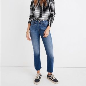 Madewell Cali Demi Boot Jeans in Kenner Wash 26P